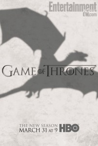 affiche game of thrones saison 3