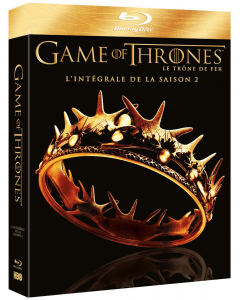 game_of_thrones_saison_2 blu ray integrale