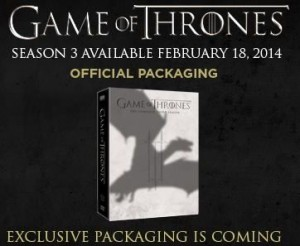 game of thrones blu ray saison 3