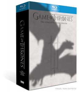 game of thrones blu-ray saison 3