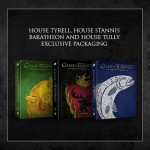 game of thrones dvd saison 3 Tyrell,  Stannis Baratheon , Tully