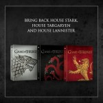 game of thrones saison 3 maisons  Stark, Targaryen  , Lannister
