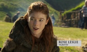Igritte saison 4 Game of Thrones