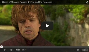 Tyrion game of thrones saison 4