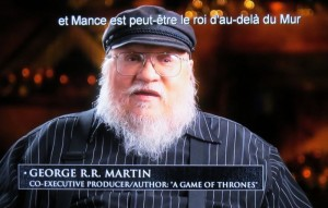 game of thrones bonus blu-ray G RR MARTIN