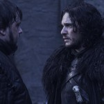 Episode 4.09 - The Watchers on the Wall Jon Snow et Sam