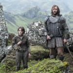 Game of Thrones - Episode 4.10 - The Children - Promotional Photos Arya et le Limier