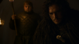 game of thrones 4x09 Sam et Jon