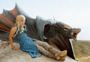 game-of-thrones dany et dragon