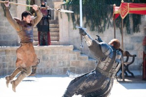 game of thrones duel 4x08 Oberyn vs Mountain