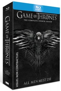 game of thrones blu-ray saison 4