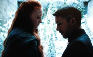 Sansa et Littlefinger saison 4