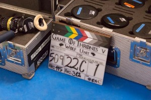 video tournage game of thrones saisons 5