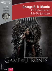 livre audio game of thrones