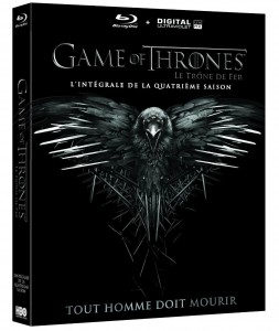Game of thrones saison 4 blu-ray