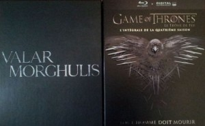 coffret jaquette saison 4 relief game of thrones