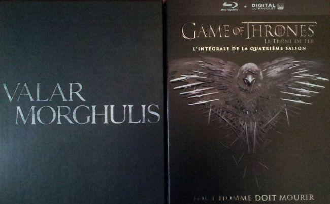 Game Of Thrones 4 Blu Ray
