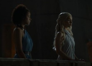game of thrones saison 4 Daenerys Missandei
