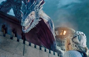 Drogon Game of Thrones saison 5