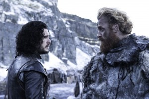 game of thrones 5x08 Jon Snow Tormund