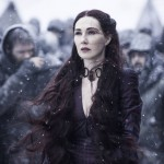 Melisandre game of thrones 5x09 neige