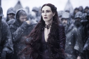 Melisandre game of thrones 5x09 neige