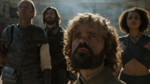 tyrion Daario Jorah missandei game of thrones 5x09