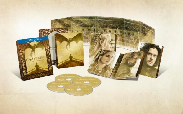 coffret blu-ray saison 5 game of thrones