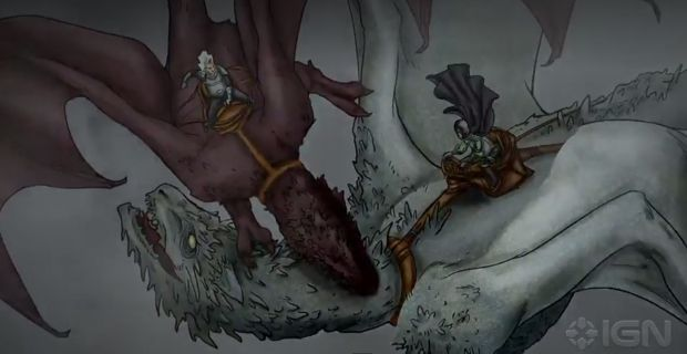 The Dance of Dragons animé Game of thrones