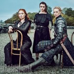 Sansa-Stark-Arya-Stark-Brienne-game of thrones saison 6 2