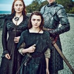 Sansa-Stark-Arya-Stark-Brienne-game of thrones saison 6 got