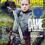 cover game of thrones EW Brienne
