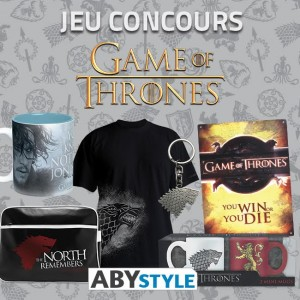 concours game of thrones abystyle