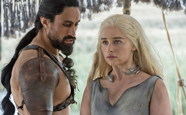 game of thrones 6x01 Daenerys - Khal Moro