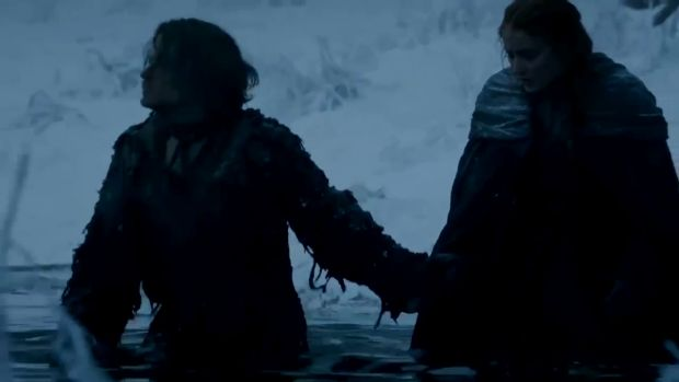Extrait de l'épisode 6×01 de Game of Thrones : Sansa et Theon