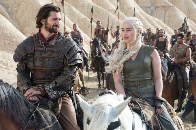 Daario-Naharis-and-Daenerys-Targaryen-in-Game-of-Thrones ... Daario Naharis And Daenerys Season 4