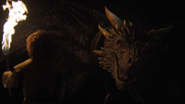 game of thrones 6x02 tyrion et les dragons
