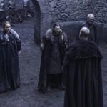 game of thrones 6x07 Sansa Stark, Jon Snow,  Davos Seaworth,  Robett Glover