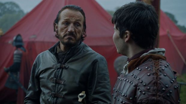 game of thrones 6x08 Bronn et Pod audiences