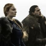 game of thrones 6x09 Jon Snow  et Sansa