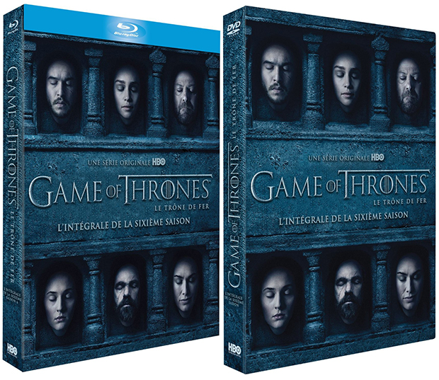 La date de sortie des coffrets DVD / Blu-ray saison 6 de Game of Thrones