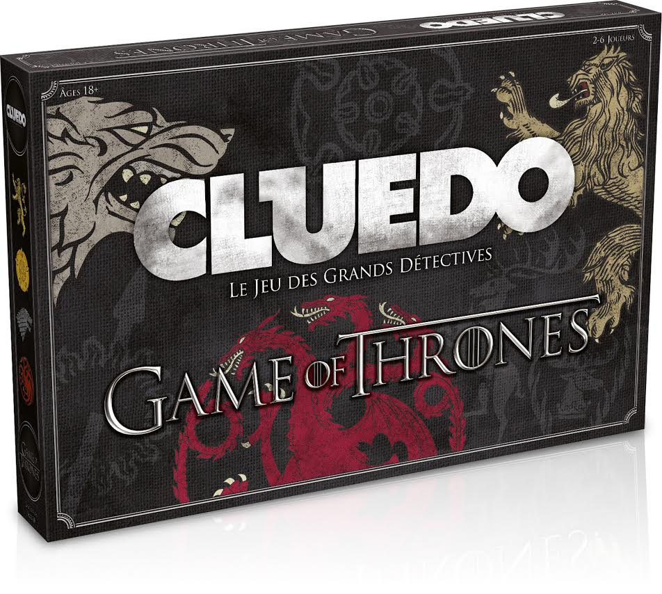Le célèbre Cluedo en version Game Of Thrones