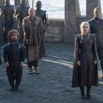 game of thrones saison 7 Missandei, Tyrion Lannister, Varys, Daenerys Targaryen, Grey Worm photo