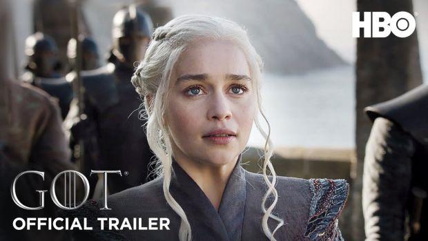 Première bande annonce épique pour la saison 7 de Game of Thrones