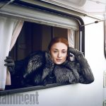 Game of Thrones - Season 7Sophie TurnerPhotograph by Marc Hom on November 22, 2016 in Belfast.