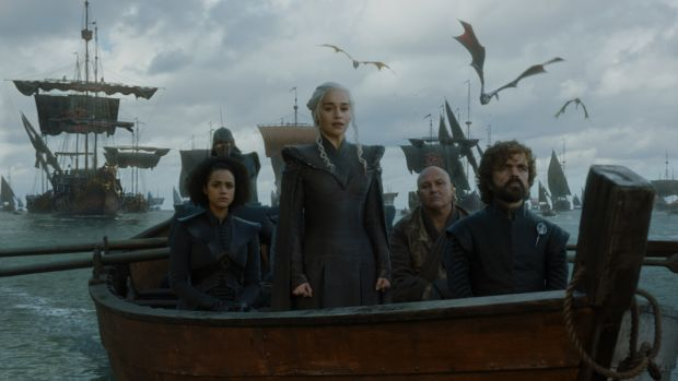 Daenerys-and-dragons saison 7