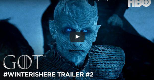 Nouvelle bande annonce pour la saison 7 de Game of Thrones