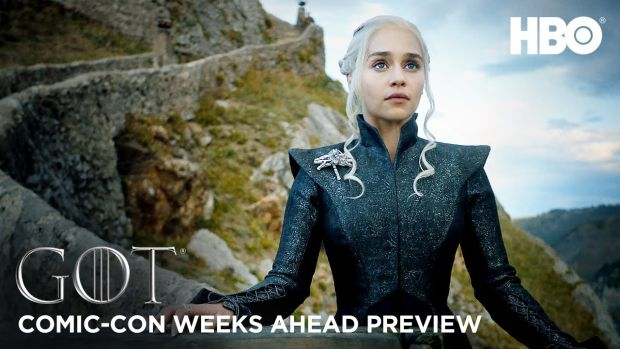 Bande annonce Comic-con pour la suite de la saison 7 de Game of Thrones