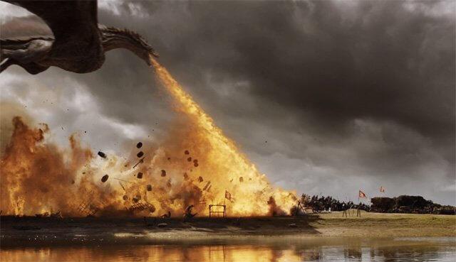 Les audiences USA de l'épisode 7×04 de Game of Thrones : The Spoils of War