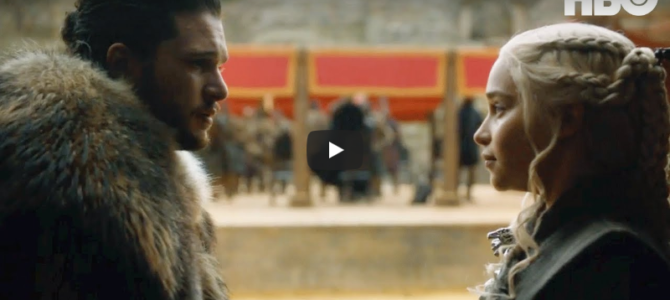 Un premier teaser pour l'ultime saison 8 de Game of Thrones !